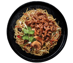 Chinwa Wok Tossed Noodle Beef