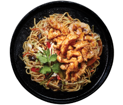 Chinwa Wok Tossed Noodle Chicken